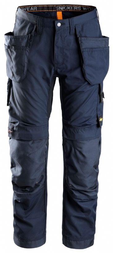 Snickers 6201 AllroundWork Work Trousers with Holster Pockets (Navy)